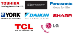 Image Bergdorf, Toshiba, Panasonic, York, Daikin, Sharp, TCL, LG partnering with